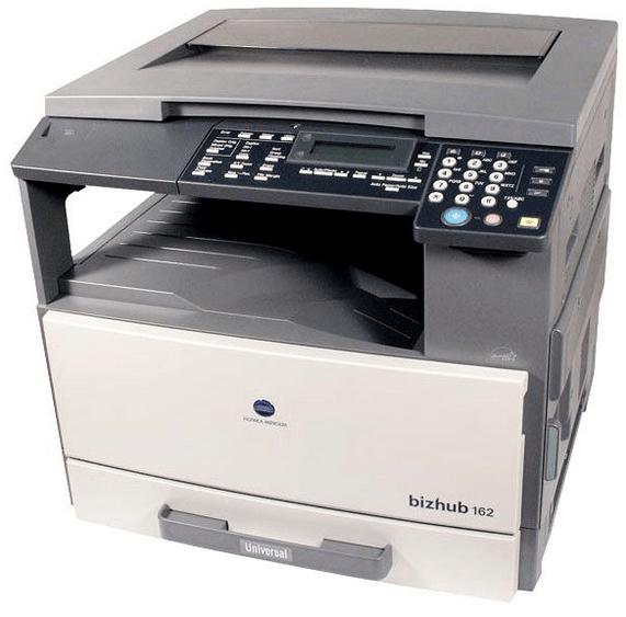 Konica minolta 162 printer