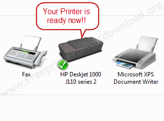 Printer Installation Manually 17 Printer is installed now