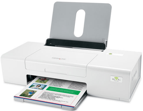 Lexmark Z1420 Printer Snapshot