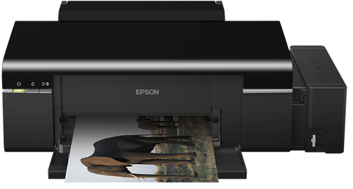 Epson Inkjet Photo L800 Printer's snap