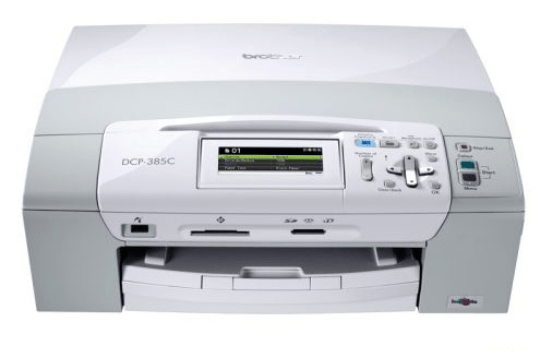 Brother DCP-385c printer image