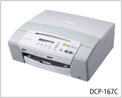 Brother dcp167 printer driver download image