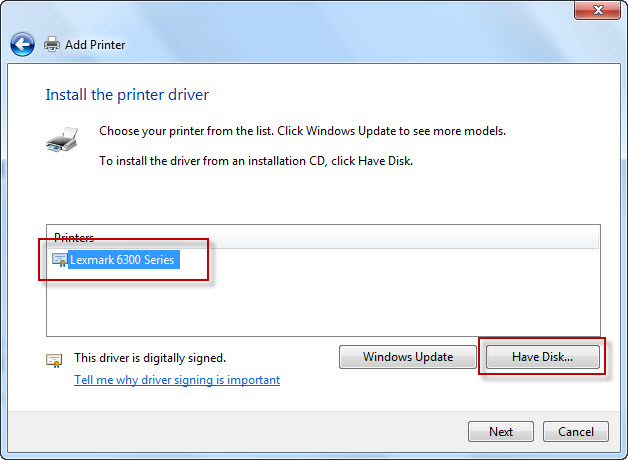 how-to-install-lexmark-p6350-basic-driver