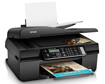 Epson Workforce 320 & 325 printer images