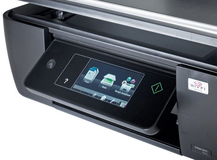 Lexmark Interact S605 printer pics