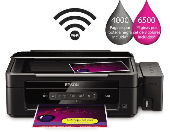 Epson L355 Driver download links