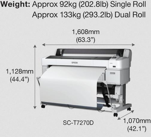 Epson SureColor SC-T7270 printer image