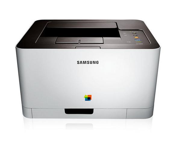 Samsong CLP-365W Printer front view scrfeenshot