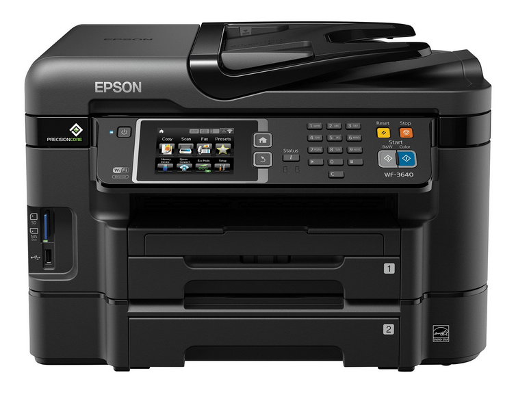 Epson WorkForce WF-3640 Full Software and Drivers For macOS