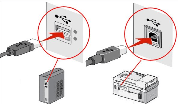 Printer Installation Guide of USB connection