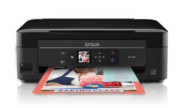 Epson XP-320 Printer Snapshot