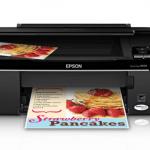 Epson Stylus NX125 Printer Snapshot