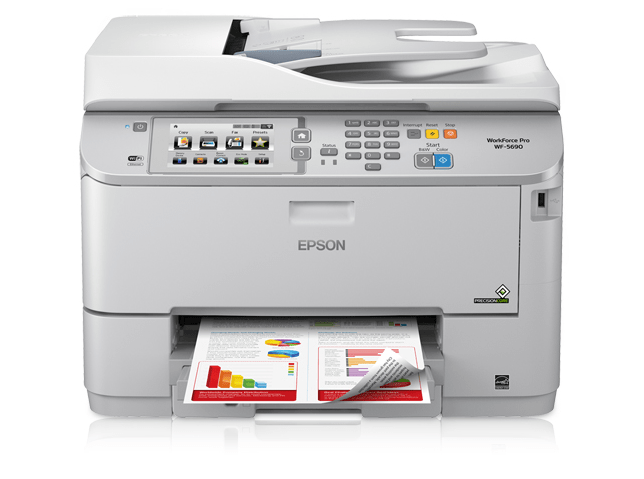 Epson WorkForce Pro WF-5690 Printer Snapshot