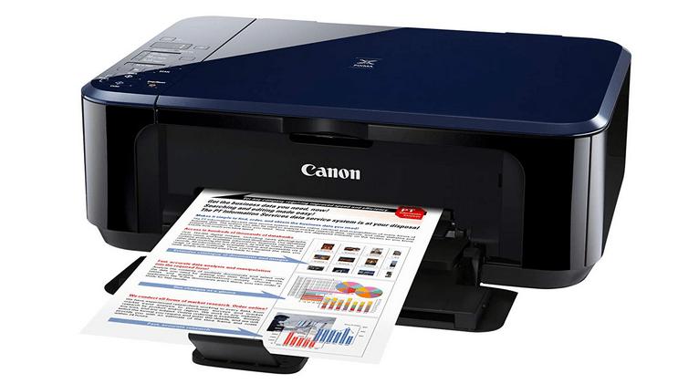 Canon Pixma e500 printer screenshot