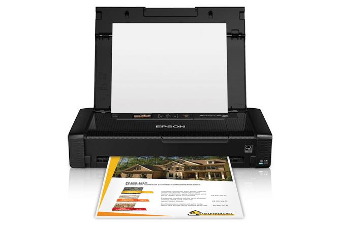 Epson WF 100-WF Printer Snapshot