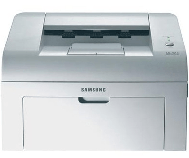 Samsung ml-1610 monochrome laser printer driver download.