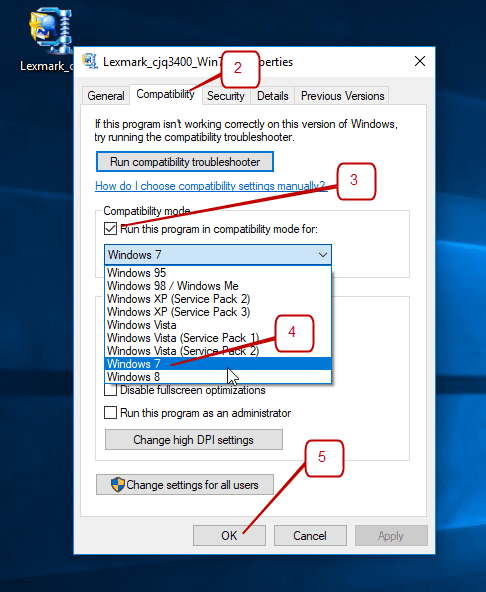 How to Install Printer Driver in Compatibility Mode on Windows 10