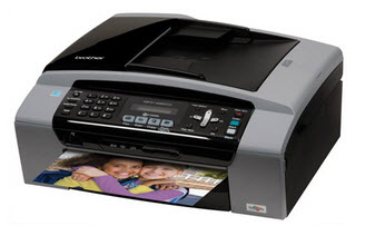 Brother MFC495CW printer & scanner all-in-one