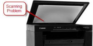 Canon Image Class MF3010 Scanning Problem Fix