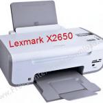 Lexmark X2650 printer image