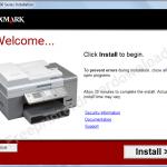 lexmark 9500 series printer