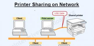 Sharp ar-5316e printer sharing diagram