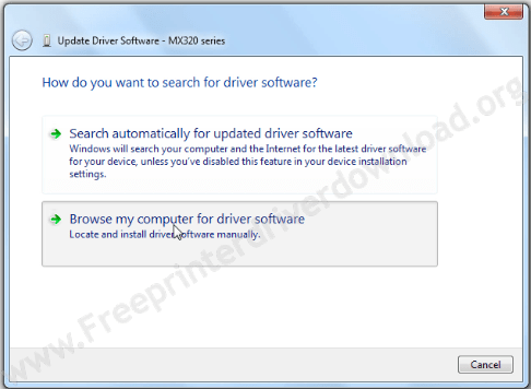 install scanner driver manually step 3