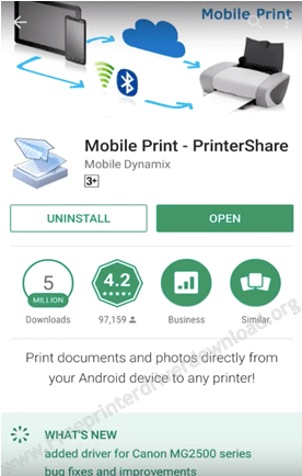 print from android step1