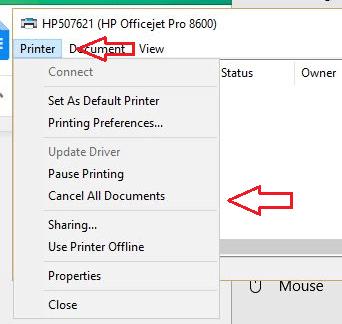 Print Final Delete