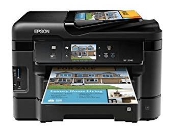 Epson Pro WF-3733 Driver Download