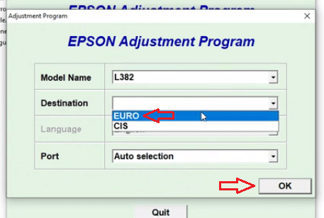 L382 GRATUIT EPSON ADJUSTMENT PROGRAM TÉLÉCHARGER