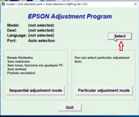 Epson program