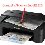canon printer error e202