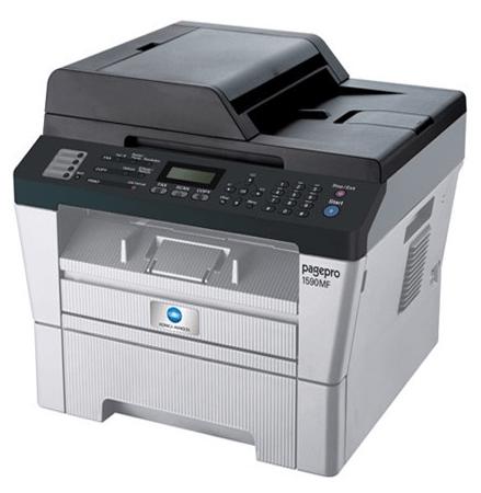 KONICA MINOLTA 1590MF printer and scanner