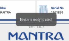 device ready