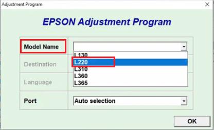 Free Download Epson L220 Adjustment Program Download 100 Free Resetter