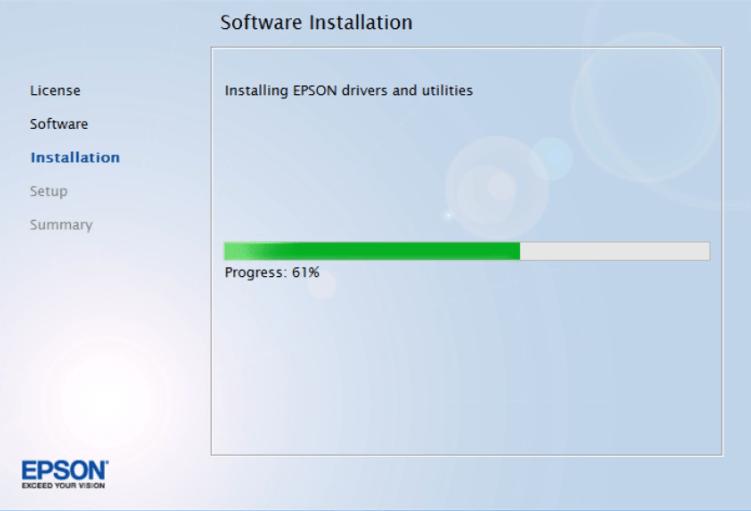 installing Epson 7710 driver